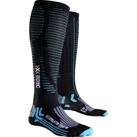 X-Bionic Effektor Accumulator Competition Long Socks Damen black/turquoise